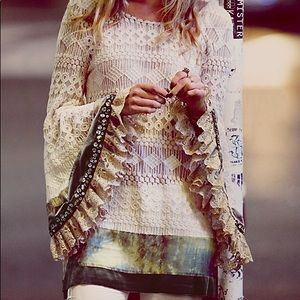 RARE:  Gypsy Junkies TUNIC Top by FREE PEOPLE